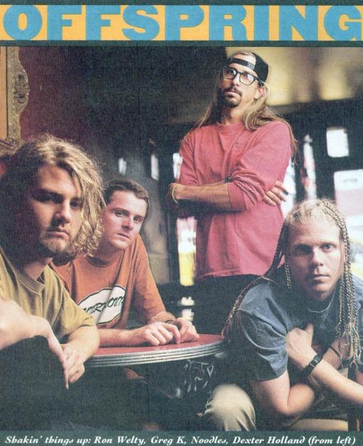 The Offspring circa 1994